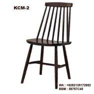Kursi Cafe Kayu KCM-2