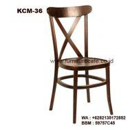 Kursi Cafe Kayu KCM-36