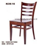 Kursi Cafe Kayu KCM-16