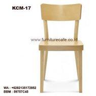 Kursi Cafe Kayu KCM-17