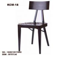 Kursi Cafe Kayu Unik KCM-18