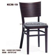 Kursi Cafe Resto Kayu KCM-19