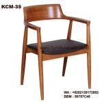 Kursi Cafe Kayu Jati KCM-35