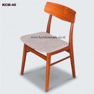 Kursi Cafe Kayu KCM-40