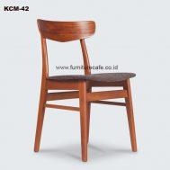 Kursi Cafe Kayu KCM-42