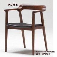 Kursi Cafe Kayu Jati KCM-5