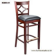 Kursi Mini Bar Kayu KBM-01