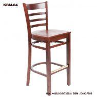 Kursi Bar Kayu Modern KBM-04