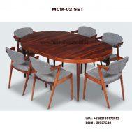 Meja Kursi Cafe Minimalis MCM-02 SET