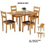 Meja Kursi Cafe Minimalis MCM-03 SET