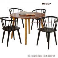 Kursi Meja Cafe Kayu MCM-27