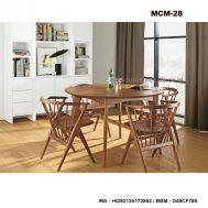 Meja Kursi Cafe Dari Kayu KCM