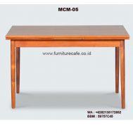 Meja Cafe Kayu MCM-05