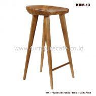 Kursi Bar Kayu Modern KBM-13
