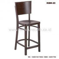 Kursi Bar Kayu Murah KBM-20