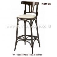 Kursi Bar Kayu Dudukan Jok KBM-25