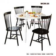 Meja Kursi Makan Cafe MCM-26