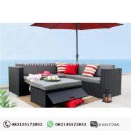 Kursi Rotan Sintetis Resort Hotel KRJ-01