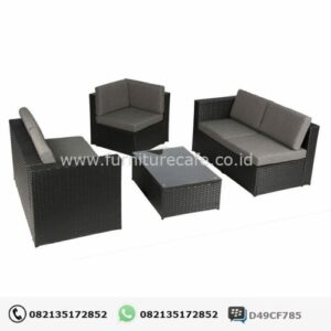 Sofa Rotan Jepara KRJ-04
