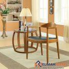 Kursi Cafe Kayu Model Lengan