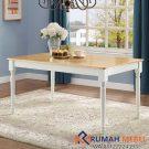 Meja Cafe Warna Putih Modern
