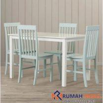 Set Meja Makan Untuk Rumah Kecil