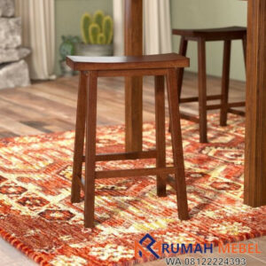 Kursi Bar Sederhana Counter Stool